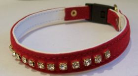 Collar Adoring Diamante Stones, Red