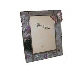 Pink Papillon, Picture Frames