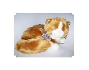 Ginger Cute 'N' Soft Cat Door Stop