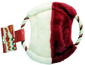Rope Flying Disc & Pull Plush