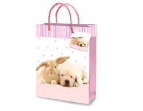 Puppy & Rabbit, Gift Bags