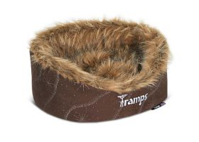 Twilight Oval Cat Bed, Brown