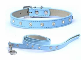 The Diamante, Collar and Lead Set