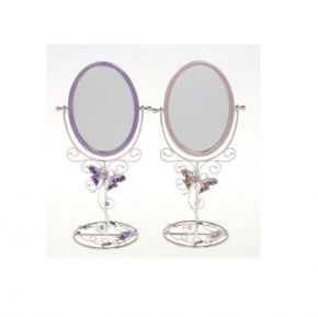 Butterfly And Flower Mirror, Leonardo Giftware