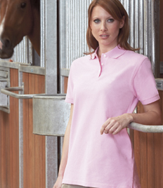 Ladies Polo's, With PET-CO Outdoor Logo