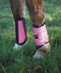 Legacy Reflective Brushing Boots, Pink