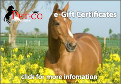 Pet-Co Gift Certificates now available