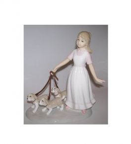 Puppy Walk, Leonardo Giftware