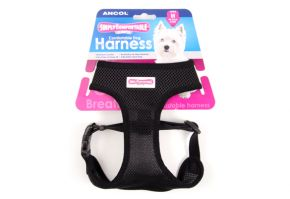 Comfort Mesh Harness, Black