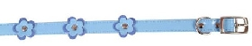 Small Bite Fashion Flower Blue Collar