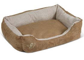 Faux Suede Box Bed, Scruffs