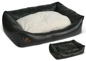 Faux Leather Box Bed, Scruffs