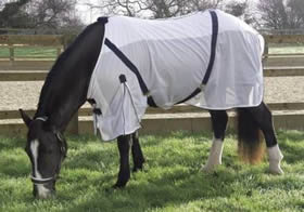 Rhinegold, Fly Rug With Detachable Neck Cover