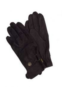 Ladies Leather Gloves, Black
