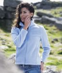 Ladies Micro Fleece Jacket, With Logo