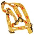 Brown/Bones Adjustable Harness