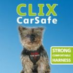 Clix Car Safe Harness, Black, Small